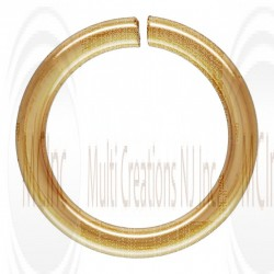 14 K Yellow Gold Open Jump Rings : 22 Guage (Available in 4 Sizes)