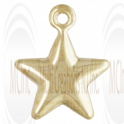 Gold Filled Star Charm 9mm