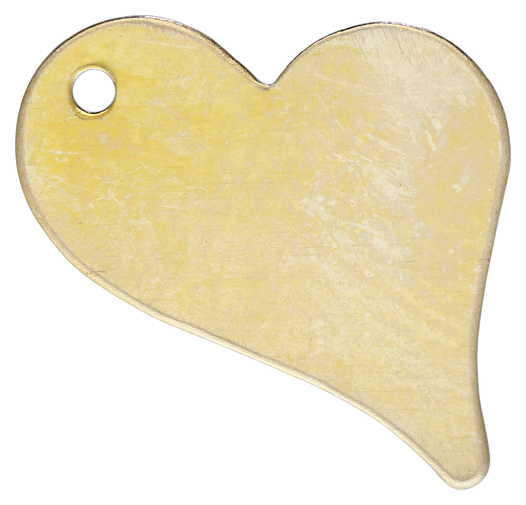 Gold Filled Heart Charm 11x17mm