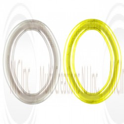 OVAL JUMP RINGS - CLOSE (Also Available in Gold Plated)