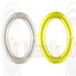 OVAL JUMP RINGS - OPEN (Also Available in Gold Plated)