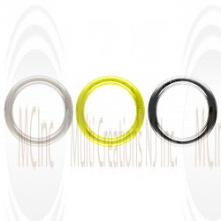 ROUND JUMP RINGS - CLOSE (Also Available in Gold Plated & Oxidized)