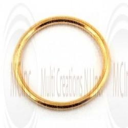 Gold Filled Links : Round Plain 15 mm