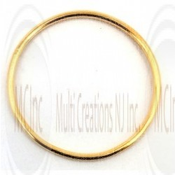 Gold Filled Links : Round Plain 25 mm