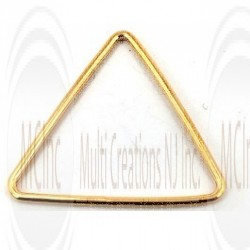 Gold Filled Links : Triangular 25 mm