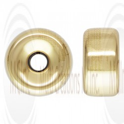 Gold Filled Roundels (Available in 4 Sizes)