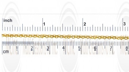 GF Round Cable Chain : 2 mm