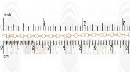 GF Round Cable Chain : 3.5 mm